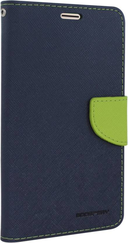 Goospery Wallet Case Cover for SAMSUNG Galaxy On Nxt Blue