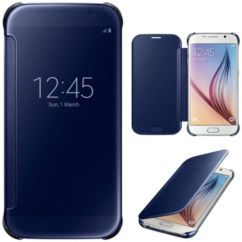 SNIPPER Flip Cover for SAMSUNG Galaxy A9 Pro BLUE