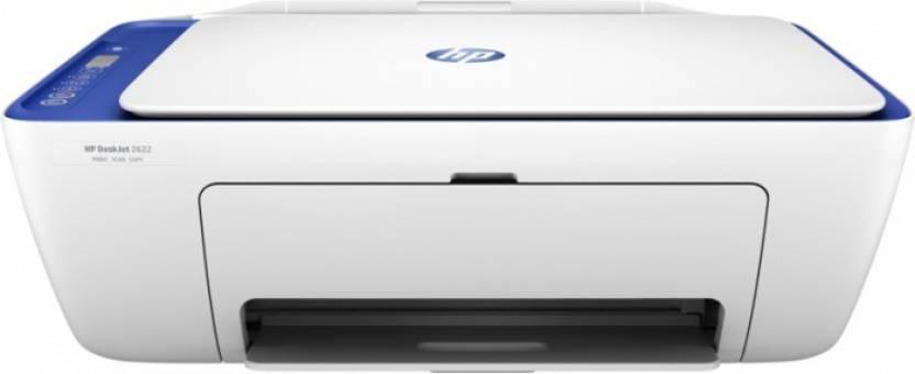 HP DeskJet Ink Advantage 2676 Multi function Wireless Printer White With Blue, Ink Cartridge