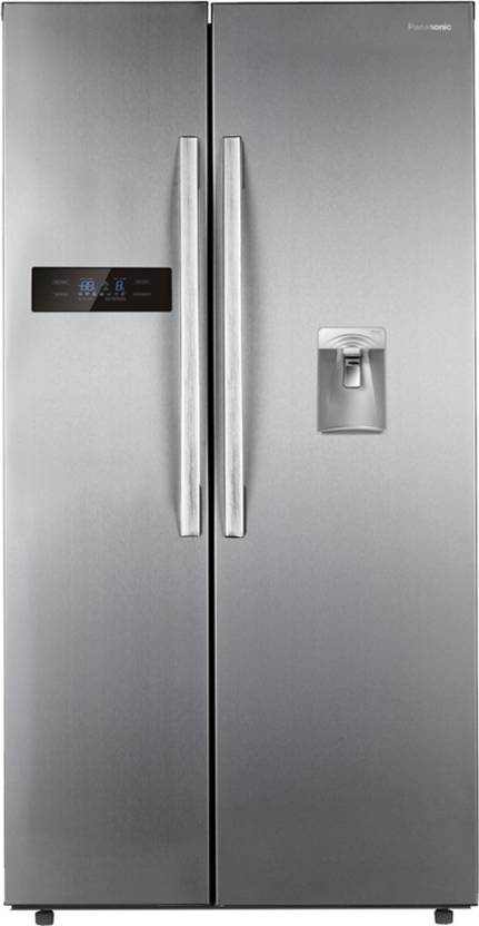 Panasonic 584 L Frost Free Side by Side Refrigerator Stainless Steel, NR BS60DSX1