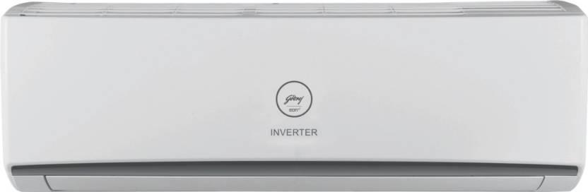 Godrej 1.5 Ton 3 Star Split Inverter AC   White GIC 18 RINV 3 DWQR, Copper Condenser