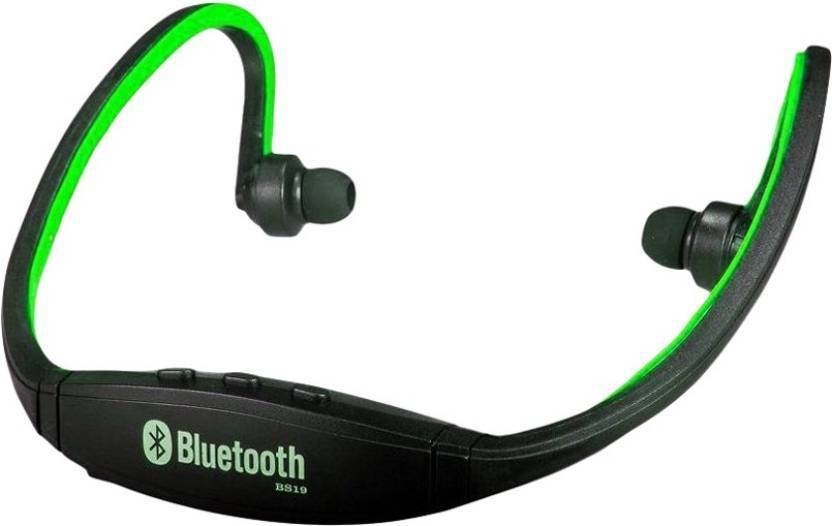 Crystal Digital BS19 Red Bluetooth Sports Bluetooth Headset with Mic
