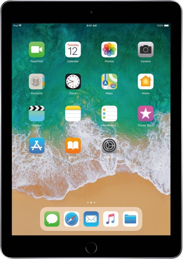 Apple iPad  6th Gen  32  GB 9.7 inch with Wi Fi Only  Space Grey