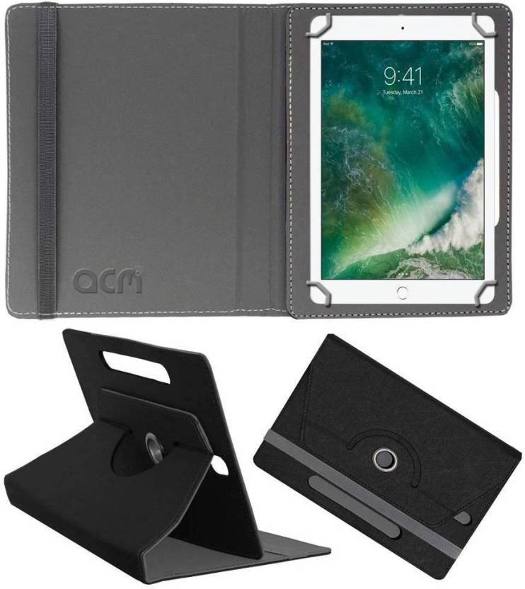 ACM Book Cover for Apple Ipad 2017 9.7 Black, Cases with Holder