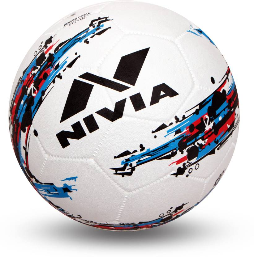 Nivia Storm Football   Size: 5 Pack of 1, Multicolor
