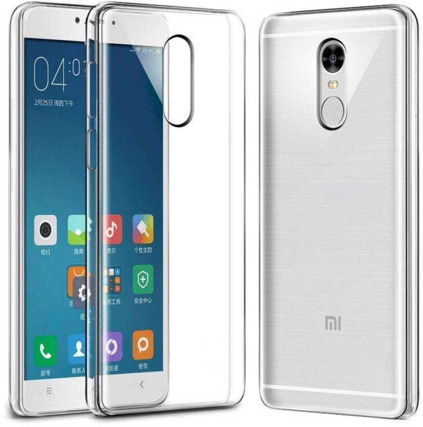anjalicreations Back Cover for Mi Redmi Note 4 Transparent