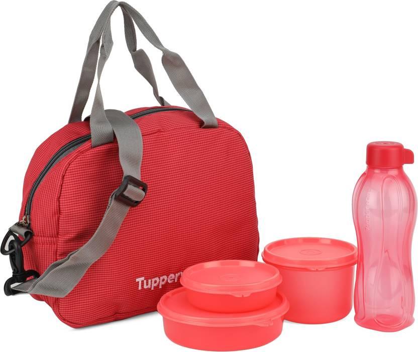 Tupperware Sling a Bling 3 Containers Lunch Box 500 ml