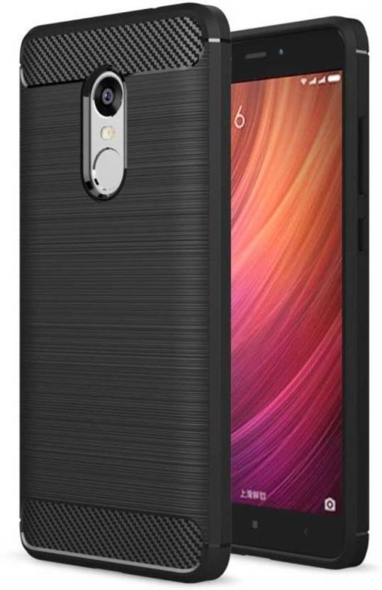 EASYBIZZ Back Cover for Mi Redmi Note 4 Black