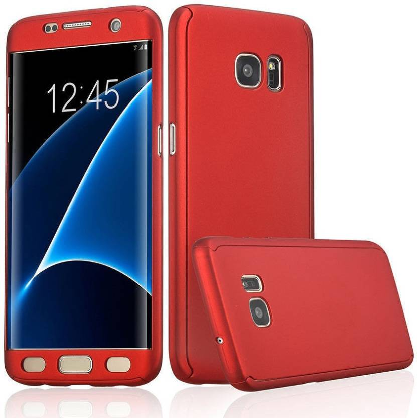 Alwin Front   Back Case for Samsung Galaxy J5 Prime Red, Dual Protection