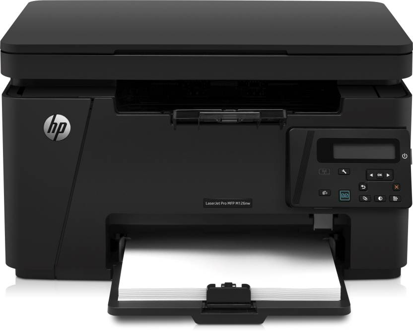 HP LaserJet Pro MFP M126nw Multi function Wireless Printer   Black, Toner Cartridge  HP Multi Function Printers