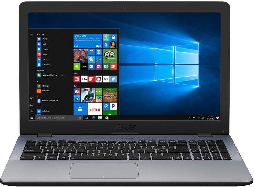 Asus APU Dual Core A9    4  GB/1 TB HDD/Windows 10 Home  A542BA GQ067T Laptop 15.6 inch, Dark Grey, 2.3 kg
