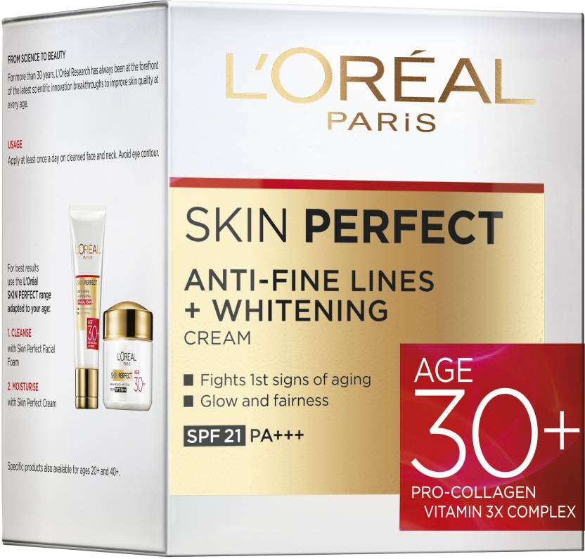 L'Oreal Paris Skin Perfect 30+ Anti Fine Lines Cream 50 g