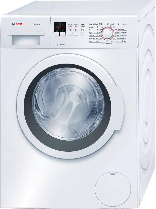 Bosch 7 kg Fully Automatic Front Load Washing Machine with In built Heater White WAK20160IN