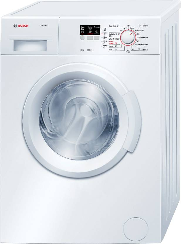 Bosch 6 kg Fully Automatic Front Load Washing Machine with In built Heater White WAB16060IN
