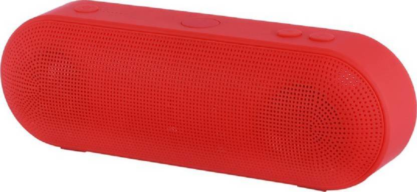 GLOWISH INXT 5 17 FM RADIO MEMORY CARD PORTABLE 9 Bluetooth  Speaker Multicolor, Stereo Channel