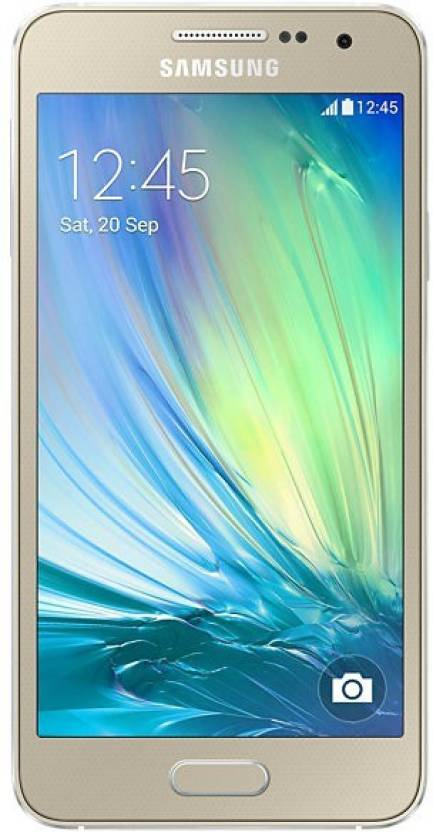 Samsung Galaxy A3  Champagne Gold, 16  GB