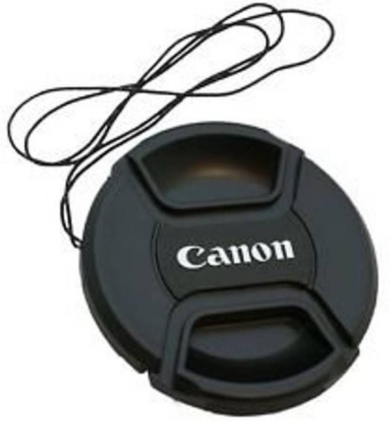 Canon LC 58mm replacement Center Pinch For 18 55mm Lens With Thread Lens Cap Black, 58 mm