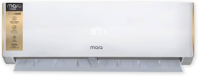 MarQ by Flipkart 1 Ton 2 Star Split AC   White FKAC102SFA, Copper Condenser