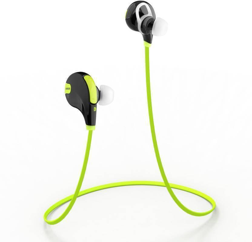 Sportzee QY7 Jogger Headphone Bluetooth Headset with Mic Multicolor, In the Ear