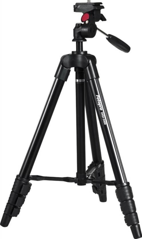 Fotopro DIGI 3400 Tripod Black, Supports Up to 2000 g
