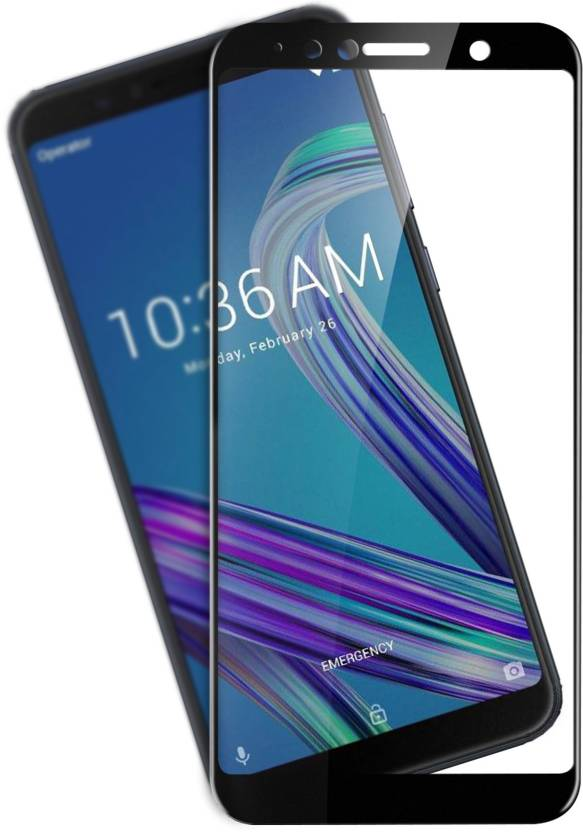 Flipkart SmartBuy Edge To Edge Tempered Glass for Asus Zenfone Max Pro M1 Pack of 1