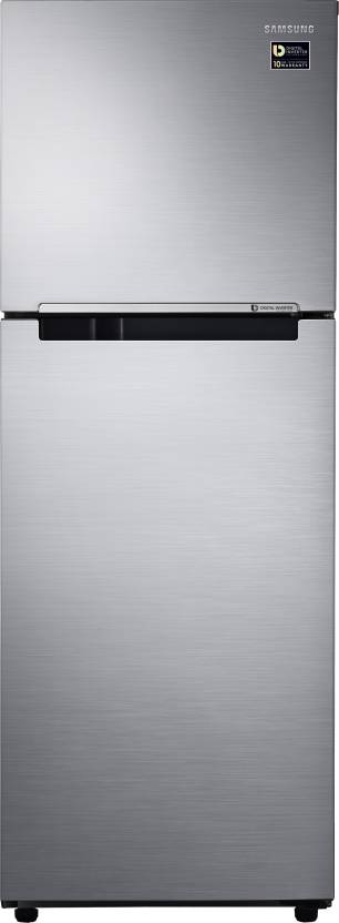 Samsung 253 L Frost Free Double Door 2 Star Refrigerator Elegant Inox, RT28M3022S8 HL/ RT28M3022S8 NL