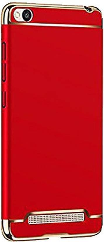 YOCOLOURS Back Cover for Mi Redmi 4A Red