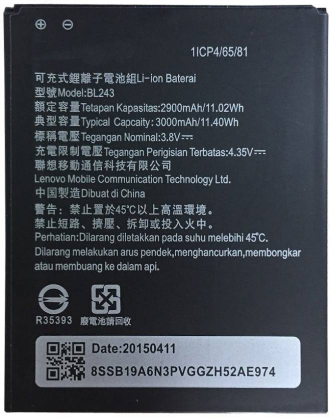 Sai Enterprises Mobile Battery For Lenovo A7000