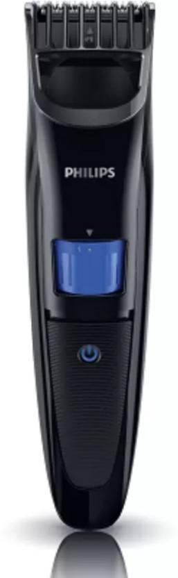 Philips QT4001/15 with Ergonomic Design Runtime: 45 min Trimmer for Men Black
