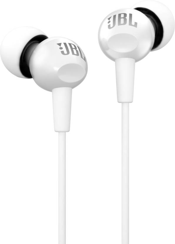 JBL C150SI Wired Headset with Mic White, In the Ear