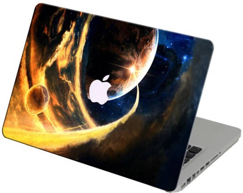 Theskinmantra Planets Laptop Skin For Apple Macbook Air 13 Inches Vinyl Laptop Decal 13