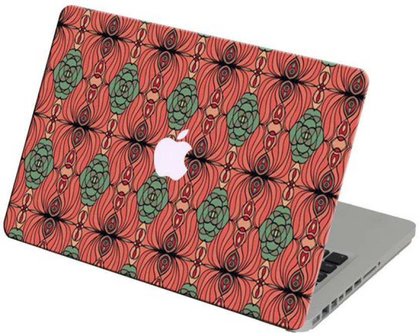 Theskinmantra Rangoli Laptop Skin For Apple Macbook Air 13 Inches Vinyl Laptop Decal 13