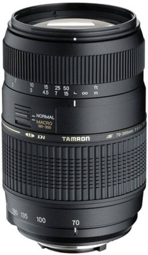 Tamron AF70 300mm F/4 5.6 Di LD Macro Lens for Sony DSLR Camera Lens for Sony A Mount Black, 70 300