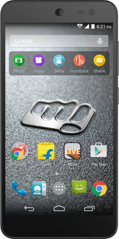 Micromax Canvas Xpress 2  Black   Champagne, 8  GB  1  GB RAM