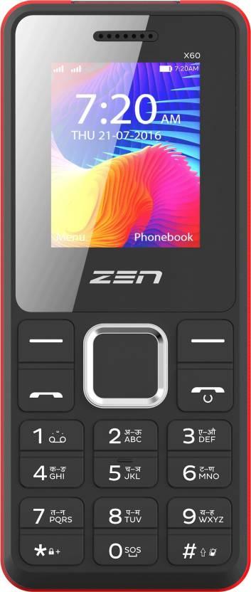 Zen Power 101 X60 Black   Red