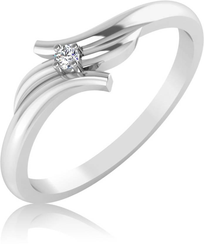 IskiUski Bridal 14kt Diamond Platinum ring