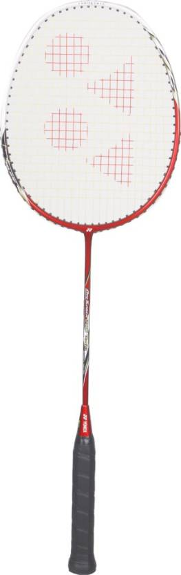 Yonex Arcsaber Taufik Red, White Strung Badminton Racquet Pack of: 1, 80 g