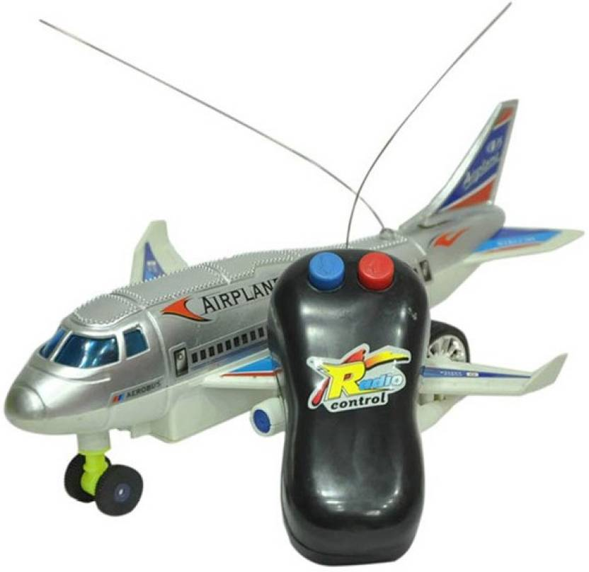 AR Enterprises Remote Controlled Aeroplane  Running, Not Flying  Multicolor
