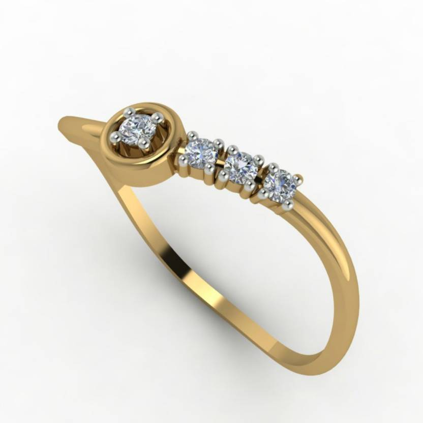 Astrum Diamonds The Bedazzle 18kt Diamond Yellow Gold ring