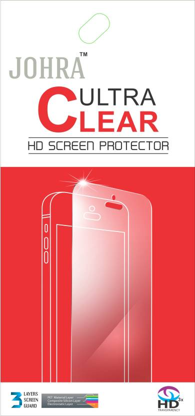 Johra Screen Guard for Sony Xperia M2 Front   Back Pack of 1