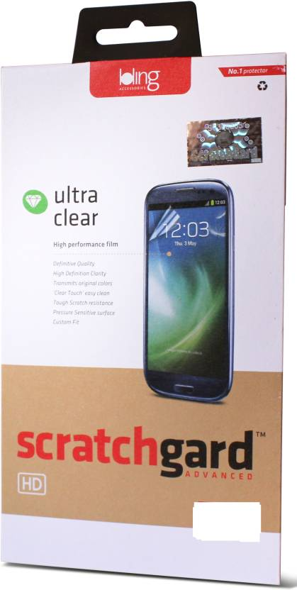 Scratchgard Screen Guard for Apple iPhone 5S  Front   Back  Pack of 1
