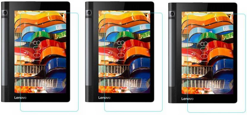 ACM Tempered Glass Guard for Lenovo Yoga Tab 2 8.0,  Pack of 3  Pack of 3