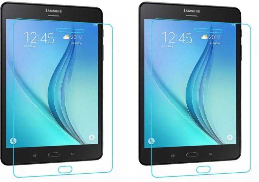 ACM Tempered Glass Guard for  Pack of 2 , Samsung Galaxy Tab A T355 8.0 Pack of 2