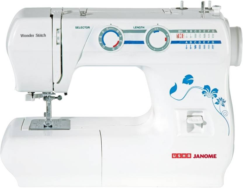 Usha Wonder Stitch Electric Sewing Machine Built in Stitches 13