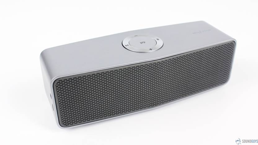 A Connect Z P 7MGSPK 9011 20 W Portable Bluetooth  Speaker Silver, 2.1 Channel