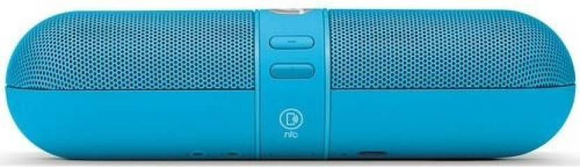 A Connect Z Pill Amazing Sound Base  108 3 W Portable Bluetooth  Speaker Blue, 2.1 Channel