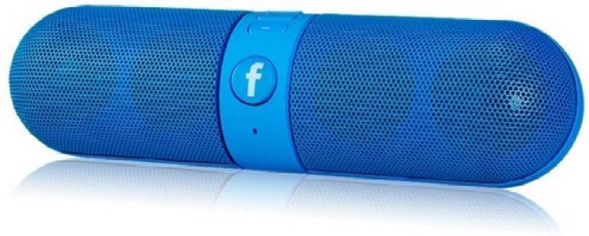 Junaldo Portable FB Tablet Bluetooth Mobile/Tablet Speaker  Multi Colour, 2.1 Channel \nB 3 W Portable Bluetooth Speaker Blue, 2.1 Channel