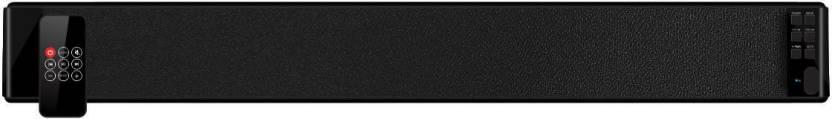 Portronics POR  667 Sound Slick 30 W Portable Bluetooth Soundbar Black, Stereo Channel