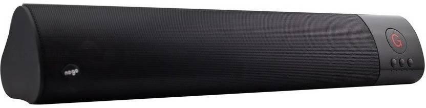 MyGear WM   1300 High Bass Sound Bar 10 W Portable Bluetooth Speaker Black, 2.1 Channel