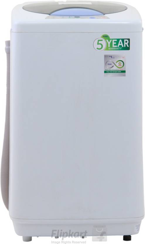 Haier 6 kg Fully Automatic Top Load Washing Machine White HWM 60 10